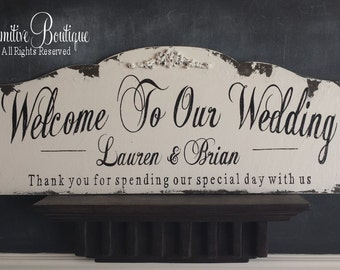 WELCOME to OUR WEDDING Sign | Welcome Wood Sign | Welcome Wedding Sign | Wedding Welcome Sign | Wooden Welcome Sign | Thank you Wedding Sign