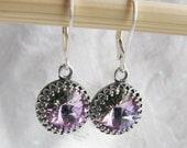 Vitrail LIght Swarovski Crystal Drop Earrings