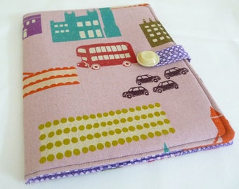 London iPad 1 Cover, Cute England Themed Case for Apple iPad, Soft Book Style