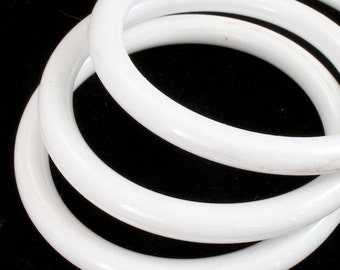 Shiny White Bangle #2389