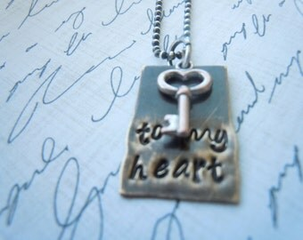 """Necklace """"Key to my heart"""""""