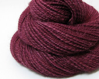Handspun Yarn - Cabernet - 110 Yards