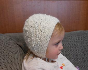 Wool Baby to Toddler Bonnet