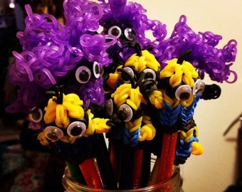 Minion Pencil Toppers