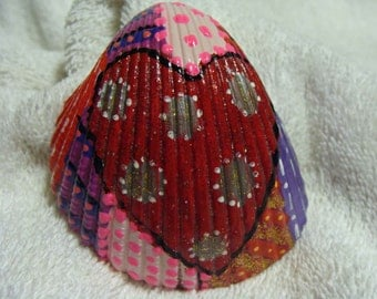 Valentine Heart Sea Shell - Hand Painted