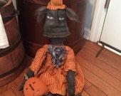 Primitive Halloween Wilhelmina Witch ready to ship
