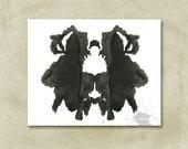 Rorschach Ink Blot Art print no 29