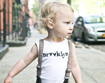 3M Short Sleeve - Brooklyn Baby Onesie
