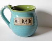 Number One Dad Mug, Ready to Mail, Great Last Minute Gift for Dad, Holds 14 oz