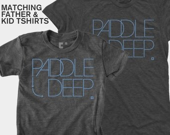 SALE! Matching Father Son Shirts, Dad and Baby Matching TShirts, Daddy Daughter Matching, Surfing Gift, SUP, Gift for Dad