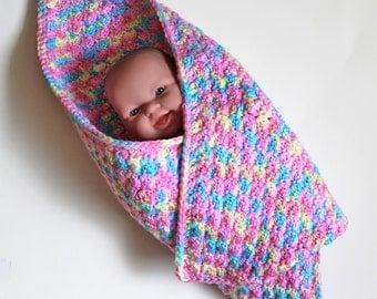 Crochet Small Doll Blanket Only New Crochet Patterns