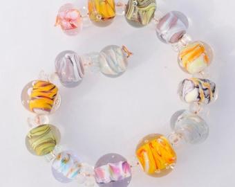 Mixed-Up Lampwork Beads