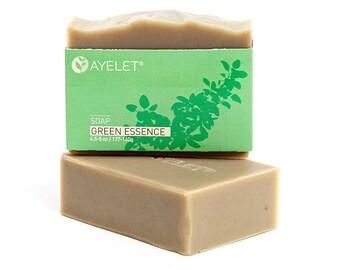 Green Essences Soap Bar with Shea Butter Organic Ingredients  Vegan Friendly