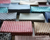 10 pcs - Tenugui - Japanese cotton fabric.