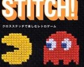 Makoto Ozu's Game & Stitch Cross Stitch Designs - Japanese Craft Book