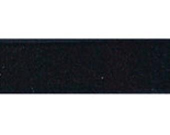 """10 yards - 3/8"""" Velvet Ribbon in Black"""