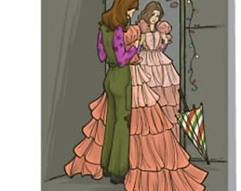 The Shindig Dress Notecard (Item 05-315)