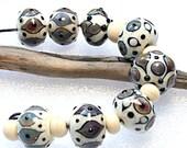 Lampwork Art Beads by Jeanniesbeads 2876
