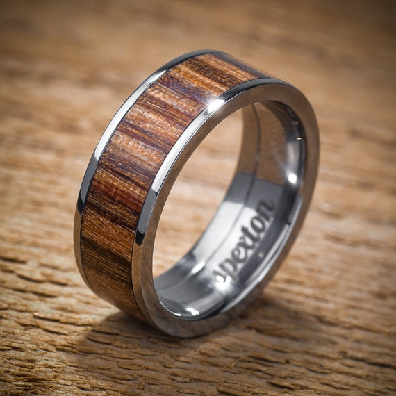 Wood Mens Wedding Bands: Unavailable Listing On Etsy