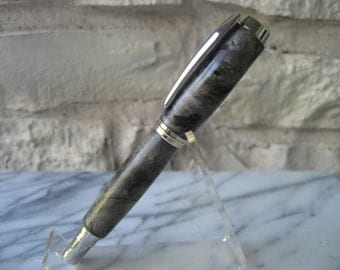 Fountain Pen (Buckeye Burl and Platinum)