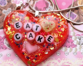 Eat Cake - Resin Candy Necklace