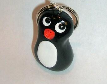 Mini Penguin Keychain