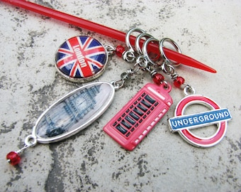 London Town Non-Snag Stitch Markers