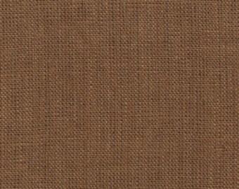 LINEN BURLAP, Taupe, Moda 12121 14, Half Yard, Out of Print