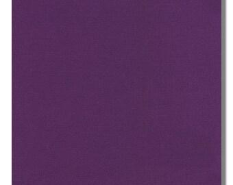 MULBERRY - Kona Cotton Fabric,  K001-80, By the Yard