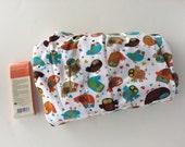 Private Listing for M.H. - Custom Owl Baby Blanket