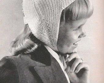 Knit Child's Winter Cap(BernGif)