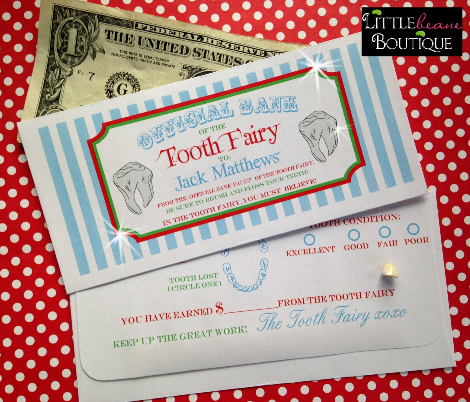 Tooth Fairy Money Poker
