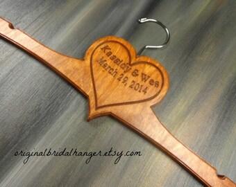 Handmade Heart Hanger - Heart Hanger - Handmade Hanger - Personalized Hanger - Custom Hanger - Heart - Gift Idea - Engagement Gift - Dress