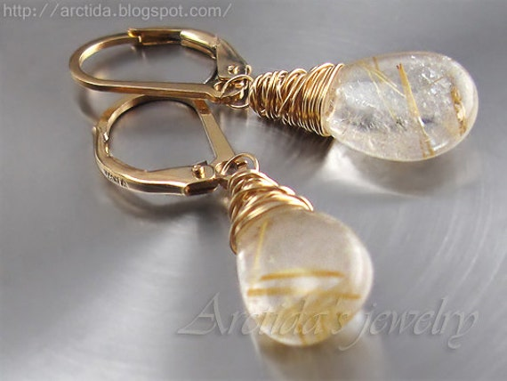 Golden rutilated quartz jewelry golden rutilated quartz for Golden rutilated quartz jewelry