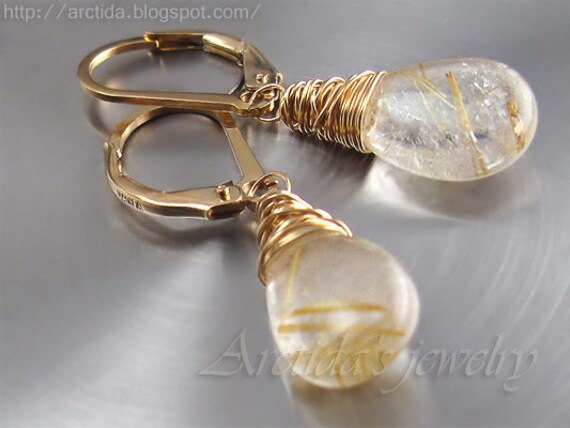 Golden rutilated quartz jewelry golden rutilated quartz for Golden rutilated quartz jewelry