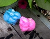 Bunny Soap, Soap Favor, Easter Bunny, Spring Favor, Baby Shower, Pink, Blue, Ivory, Chocolate, Shower Favor, Birthday Party
