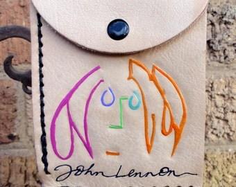 Wallet with John Lennon Self-Portrait