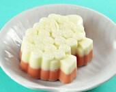 Goats Milk Soaps - Pumpkin Spice and Egg Nog Scent - Sheep Shaped  - Set of 12 - Gift Set Soaps