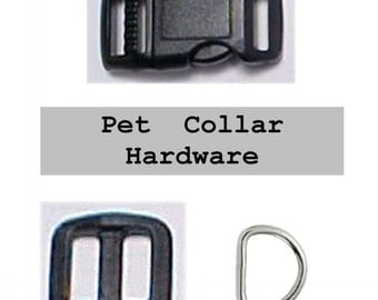 """20 SETS - 1/2"""" - Dog Collar Kits, 1/2 inch, 60 Pieces, 12.7mm"""