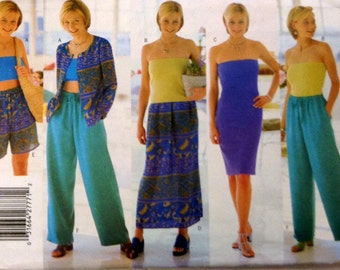 Sewing Pattern Butterick 5595 Very Easy Separates Uncut  Complete Size 12 14 16 Bust 34 36 38