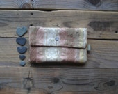 Verkauf - Pastell Pfirsich Pouch