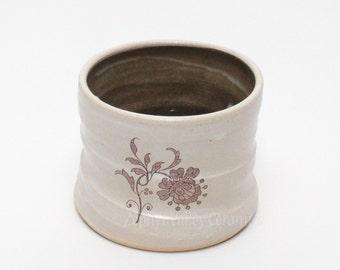 Pottery Barware - Whiskey Rocks - Votive Candle Holder - Ceramic Stoneware Cup - Ceramic Bar Ware - Cotton Swab Holder