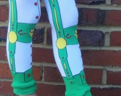 Sale - ELF LEDERHOSEN - Leg Warmers for Baby, Toddler, Child, Tween Boy or Girl - Great Costume Accessory - Fun Birthday or Baby Shower Gift
