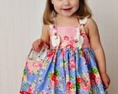 Garden Party petal knot dress