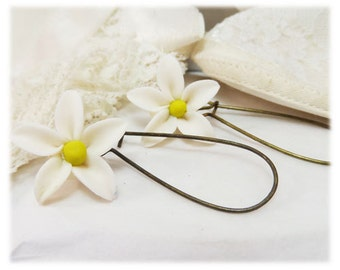 Jasmine Dangle Earrings - Jasmine Drop Earrings