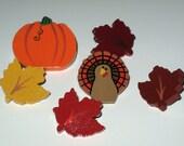 Thanksgiving Autumn Push Pins for Bulletin Board