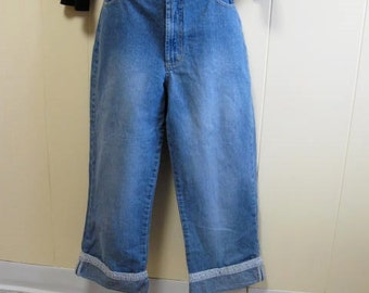 Vintage Gloria Vanderbilt Jeans  size 10 Blue Denim Pants Designer Jeans