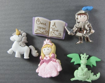 Fairy Tale Novelty Buttons