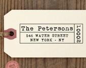 custom ADDRESS STAMP with proof from USA, Eco Friendly Self-Inking stamp, return address stamp, custom stamp, typewriter designer stamp 98