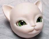 Doll eyes 16mm AD color ElectricLime Filigree